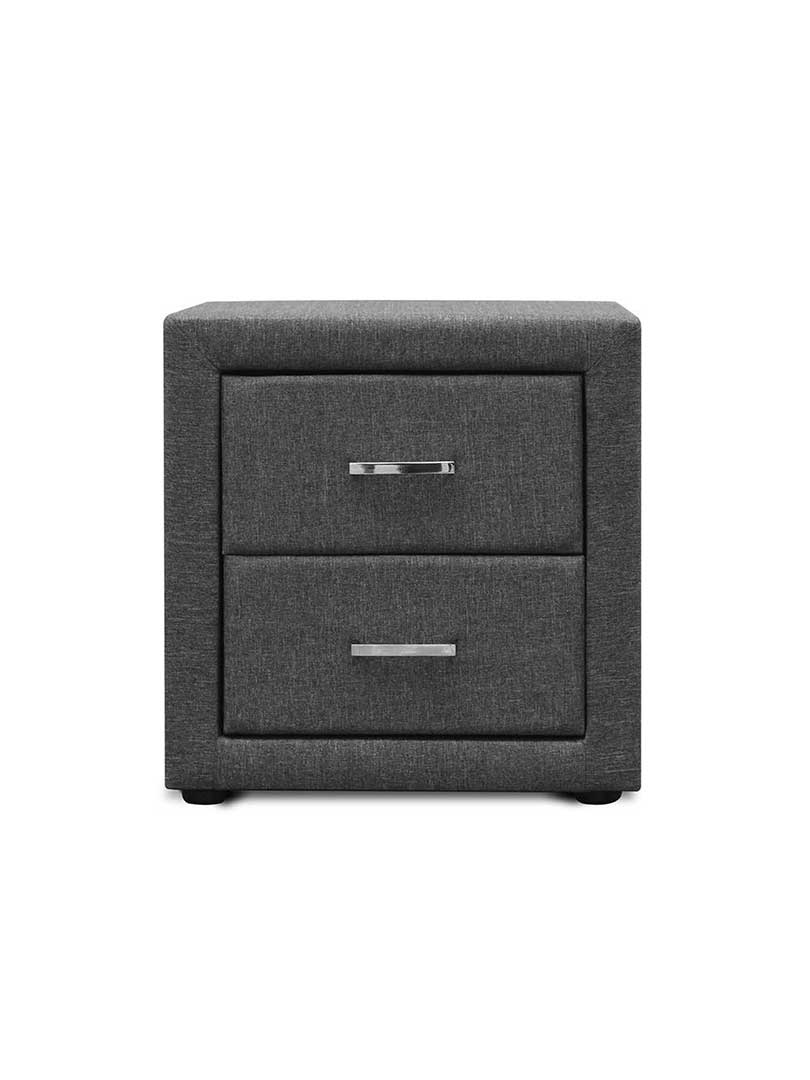 Buy Fisse Fabric Bedside Table Online Australia