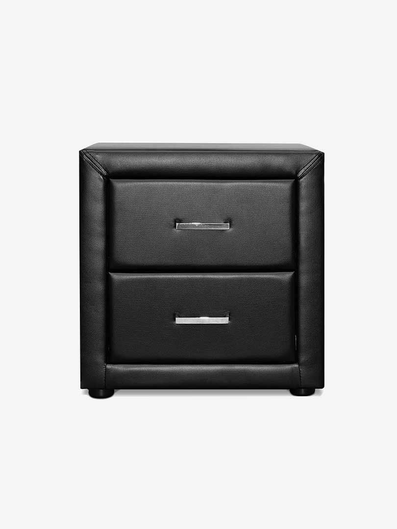 Fisse leather bedside table e living furniture online australia bedside table bedside table bedside table bedside table watchthetrailerfo