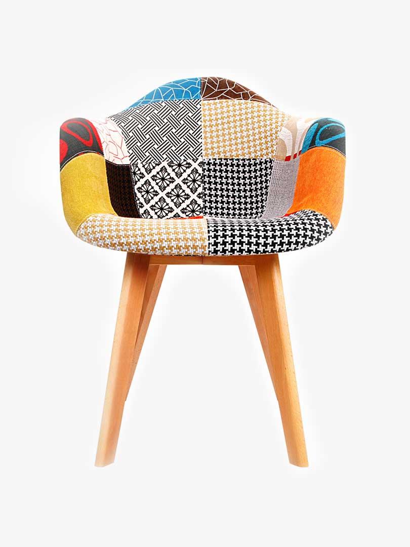Buy Laddan Fabric Armchair - Set of 2 Online Australia