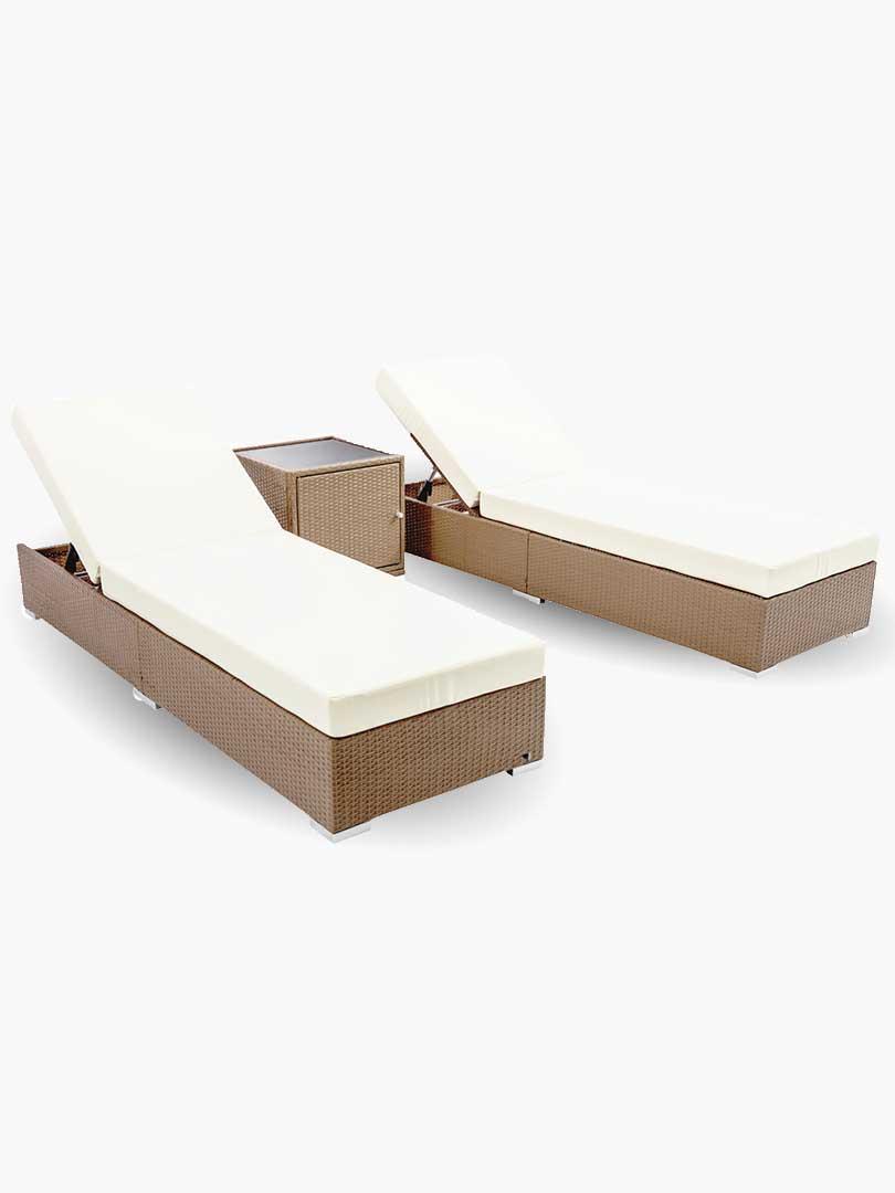 Evis 2 seater outdoor lounge set e living furniture online australia
