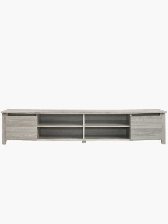 Buy Sven TV Unit 180CM White Oak Online Australia Furniture Living Room