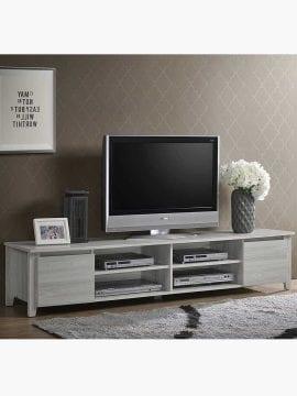 Buy Sven TV Unit 180CM White Oak Online Australia Furniture Living Room