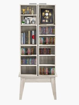 Buy Sven Multimedia Cabinet White Oak Online Australia Furniture Living Room