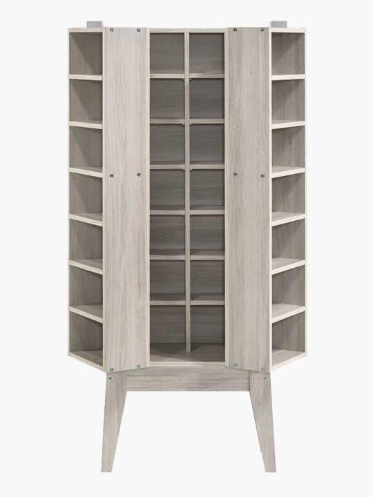 Buy Sven Multimedia Cabinet White Oak Online Australia Furniture Living Room