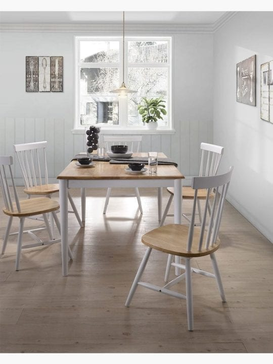 Claus 7-piece Dining Set in Dining Room Furniture Setting