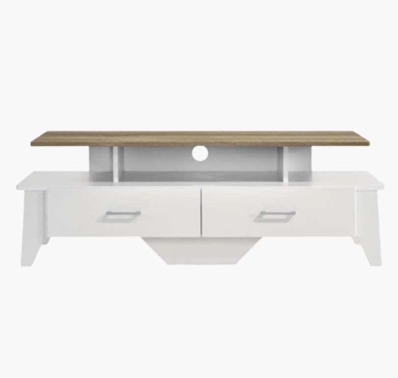Buy Arvee TV Stand 120CM White Oak Online Australia Furniture Living Room
