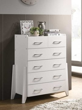 Buy Tallboy Chest Drawer Online Australia Modern White Bedroom Furniture Dresser