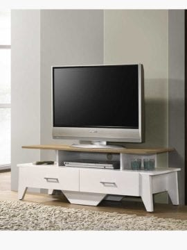 Buy Arvee TV Stand 120CM White Oak Online Australia Furniture Living Room