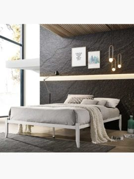 metal bed base platform
