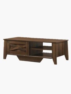coffee table dark brown