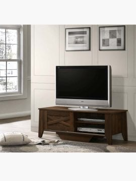 tv stand dark brown 120cm