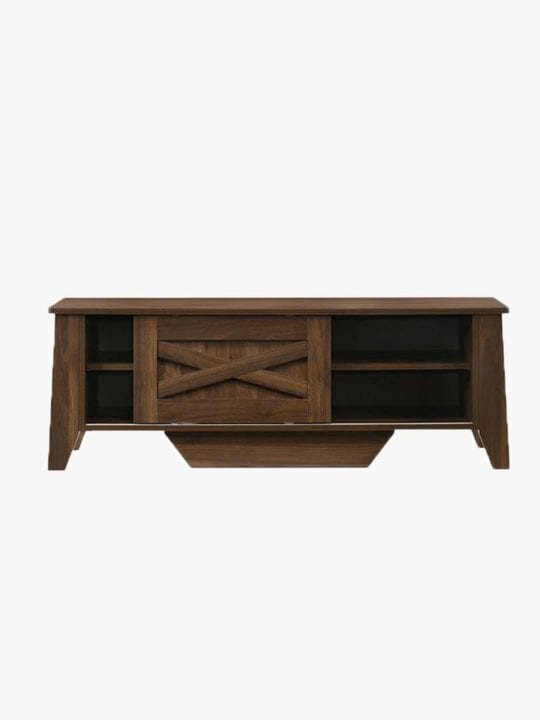 tv stand dark brown 120cm