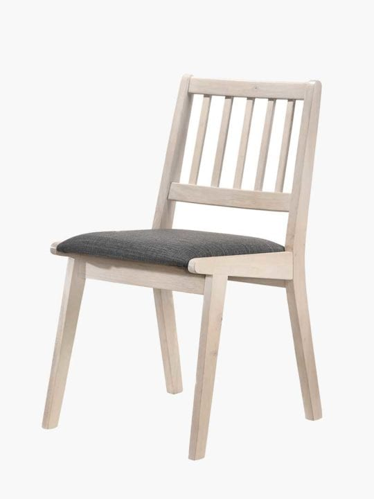dining chair solid rubberwood