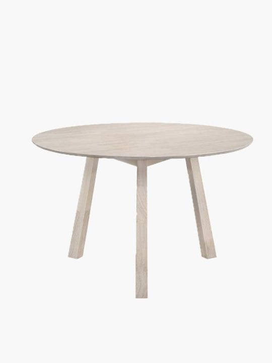 dining table round white