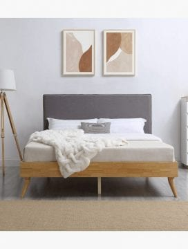 casa wooden bed frame