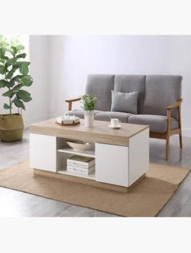 Cuppa White Coffee Table Charming