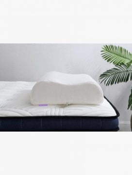 contoured pillow neck memory foam