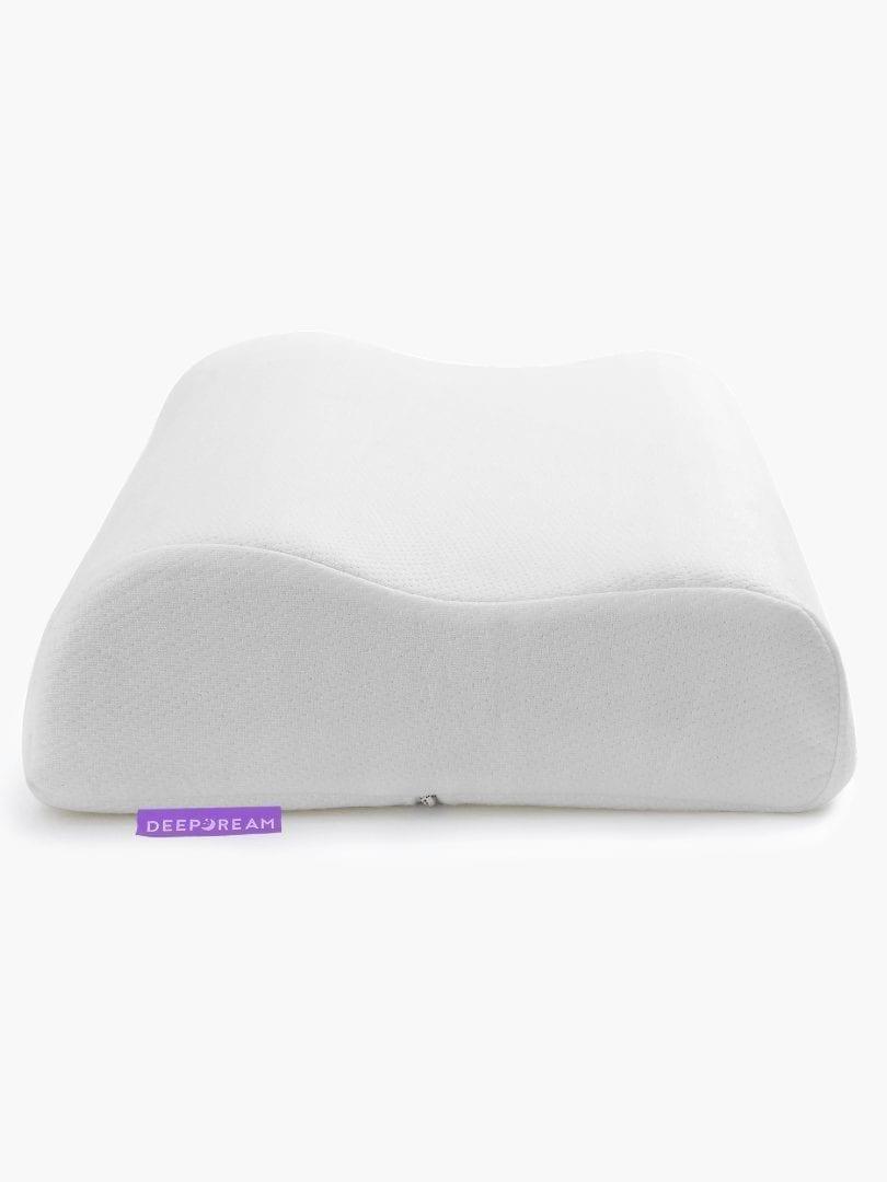 contoured pillow neck memory foam