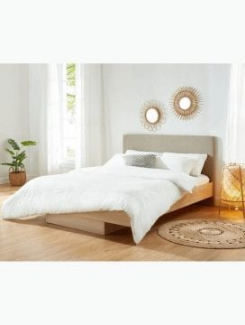 Nook Wooden Floating Bed Frame