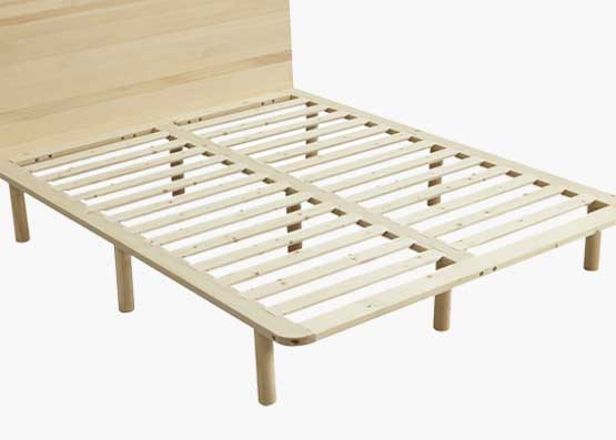 Cali Wooden Bed Frame with Headboard