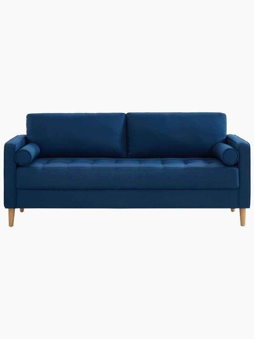 Chloe Sofa Bed 3 Seater Blue