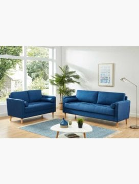 Chloe Sofa Bed Combo Blue