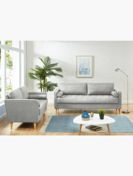 Chloe Sofa Bed Combo LightGrey