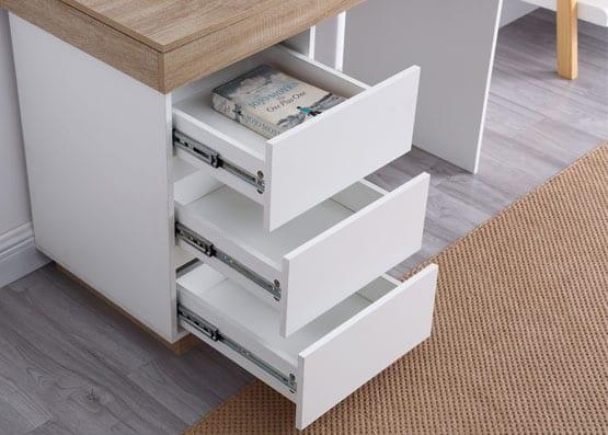 Cuppa White Wooden Desk