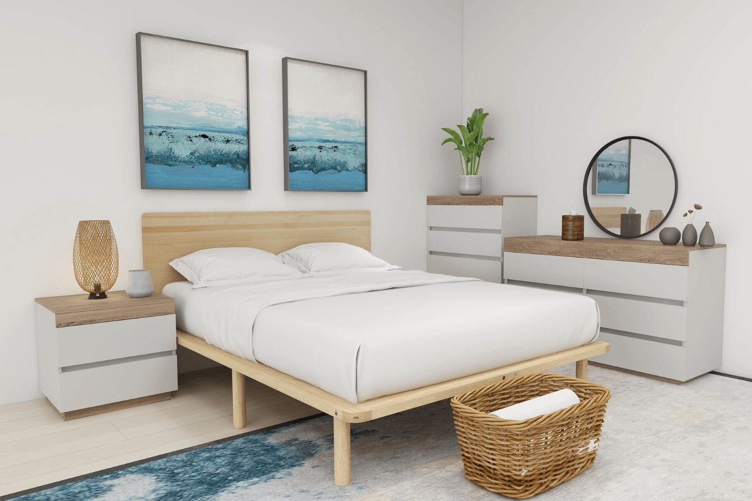 cali bedroom set