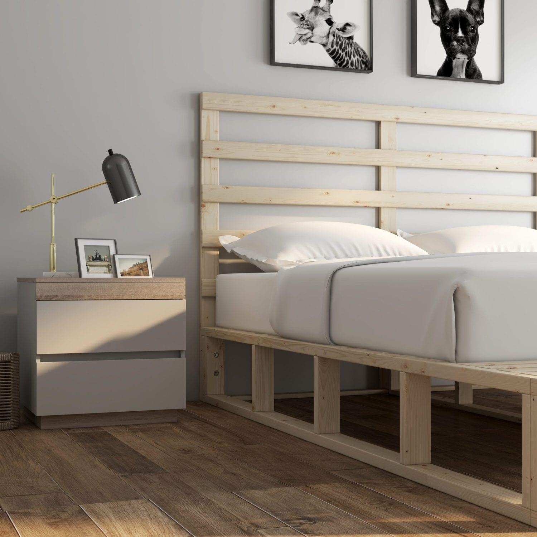Buy Coastal Pallet Bed Frame Online Australia