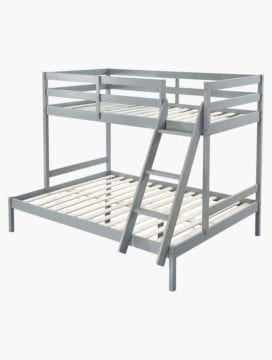 Astro Kids Triple Bunk Bed Frame Grey