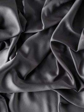 Deep Dream Organic Bamboo Flat Sheet Charcoal