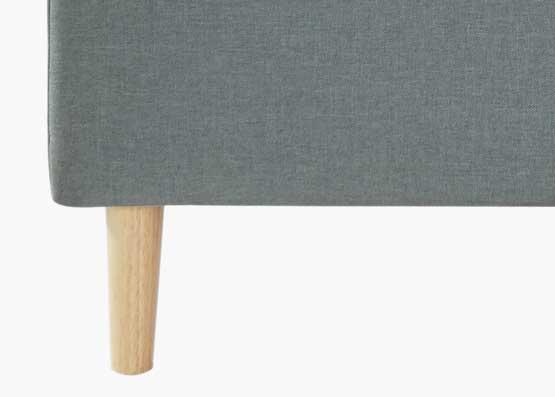 Dora Bed Frame Charcoal