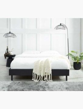 Kuka Bed Base - Charcoal