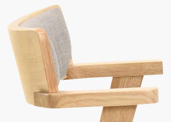 Migo Dining Chair - Natural Light Oak