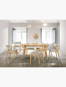 7pcs Dining Sets Table & Chairs