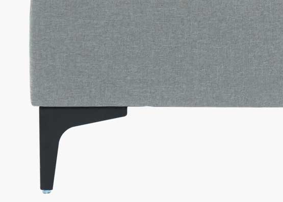 Orka Bed Frame Stone Grey
