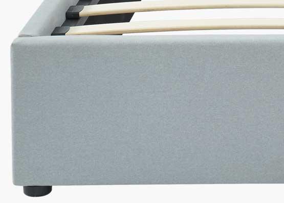 Rio Bed Frame Stone Grey