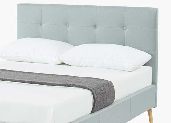 Talia Bed Frame - Stone Grey
