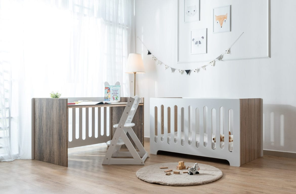 How to choose the best baby cot for your little one | E-Living Furniture