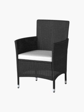 Black Luca Patio Set