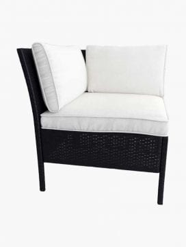 Cohiba Outdoor Sofa Set Black