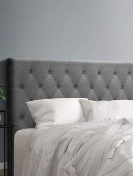 Kol Fabric Headboard in Grey