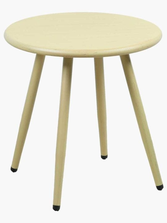 Natural Nina Steel Side Table