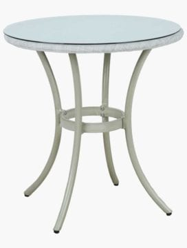 White Malta Outdoor Dining Table