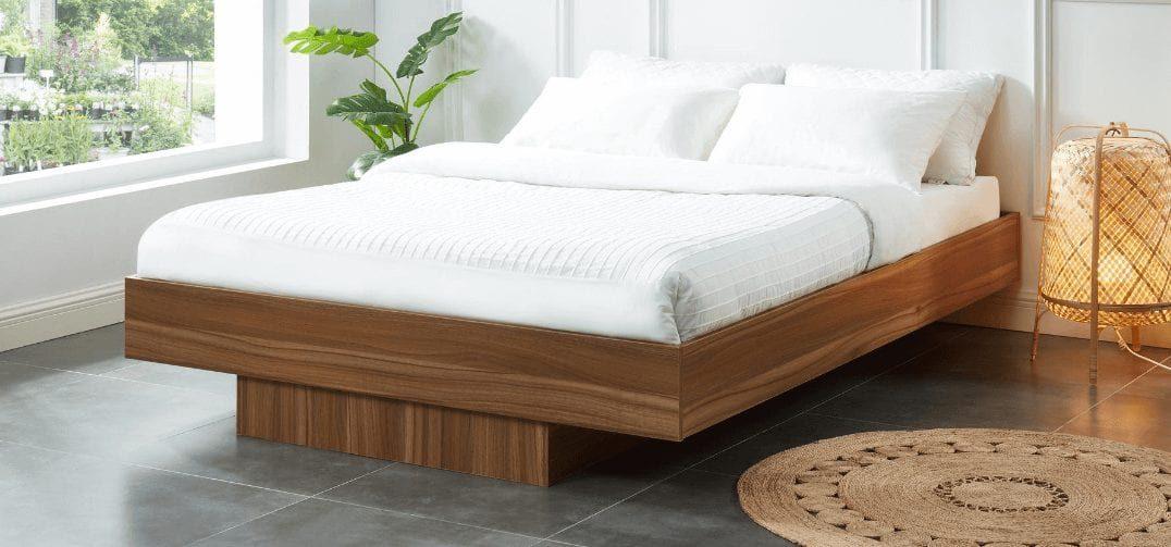 Nook Wooden Floating Bed Base
