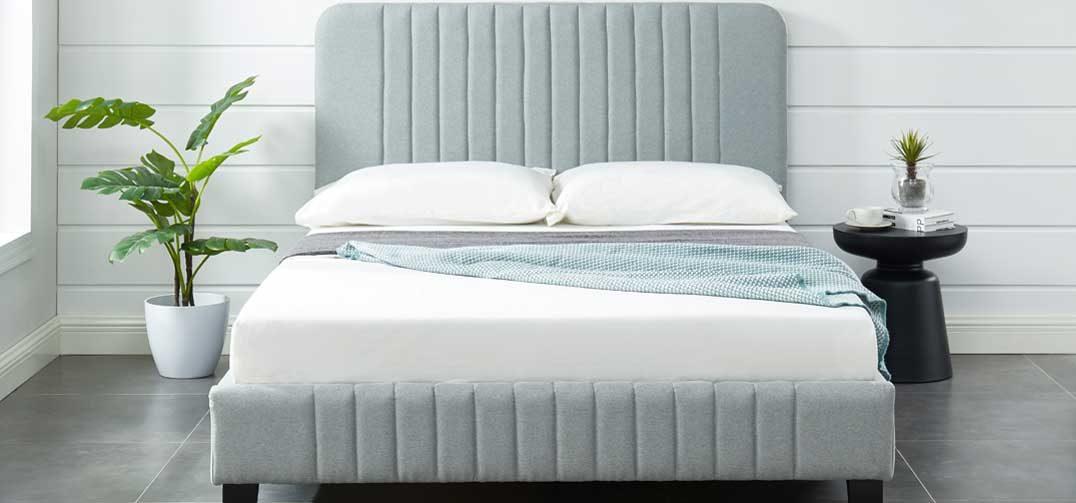 Charlotte Bed Frame Stone Grey