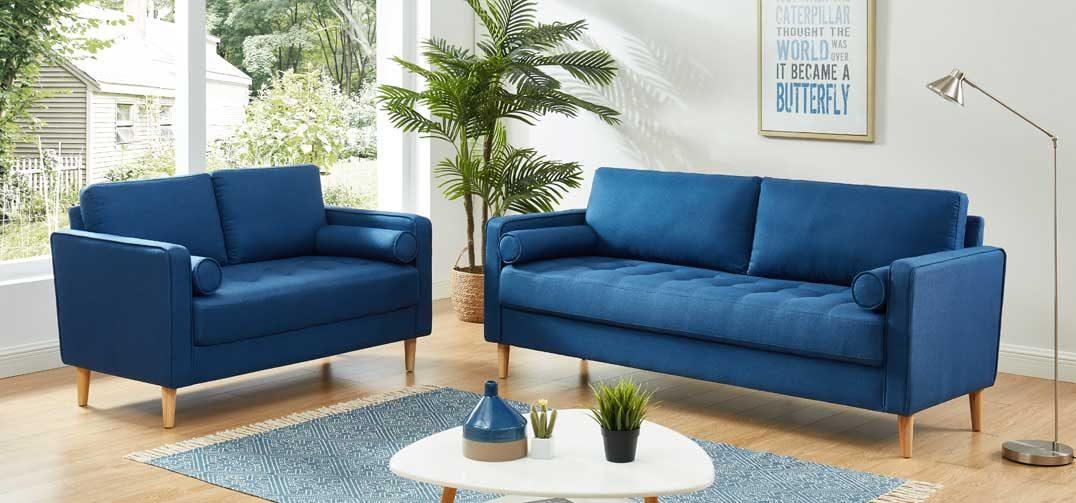 Chloe Sofa Bed Combo Blue