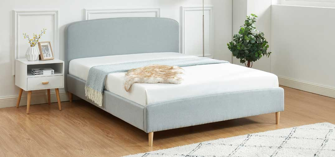 Dora Bed Frame Stone Grey