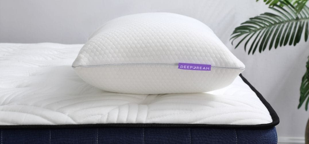 Memory Foam Pillow Lavender Height Adjustable